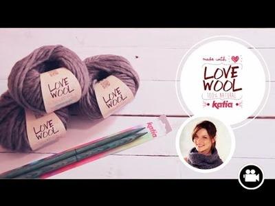 Love Wool DIY: Cuello · Neck warmer · Col