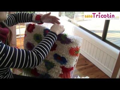 TISSER : tapis, tapisseries ou tissage au noeud rya, ghiordes, ou turc