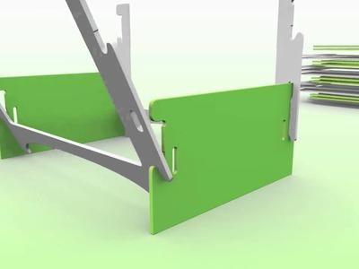 4 Wood Display System (PLV)
