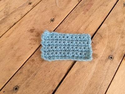 Crochet maille serrée