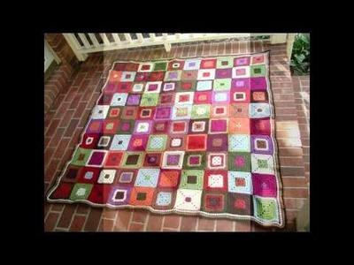 Crochet yoyo pattern