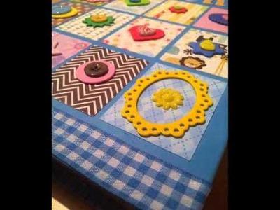 Scrapbooking Album de bebe El taller de Marisa
