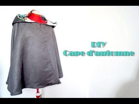 DIY - Cape pour l'automne
