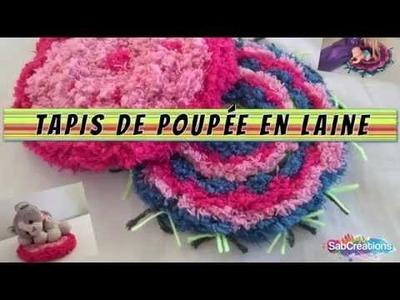 DIY - TAPIS DE POUPÉE EN LAINE