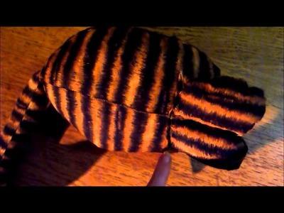 (TUTO):Confection d'un chat en tissu