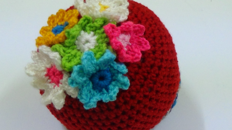 CROCHET  BABY BEANIE HAT -1