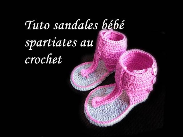 Tuto Sandales Bebe Facile Spartiates Crochet Au OkZulwPXiT