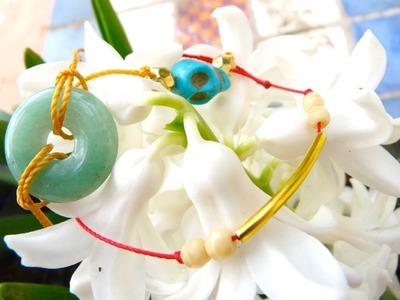 Tutoriel - DIY Easy Tip : Comment faire 3 bracelets simples pour le printemps - été