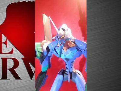 Evangelion papercraft - EVA 01