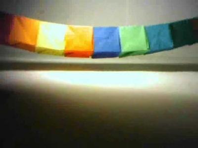Origami : boite quatre dimensions