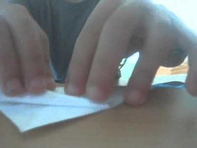 Origami pochette refèrmable