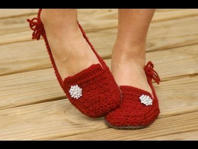 Calzado crochet. Sandalias, zapatos, slippers, babuchas, etc.