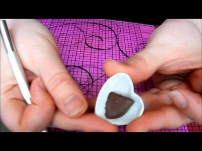 Tuto fimo : moelleux au chocolat (polymer clay chocolate cake)