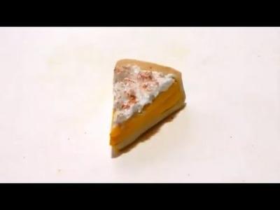[TUTORIAL] Tarte au citron meringuée.Lemon meringue pie.polymer clay
