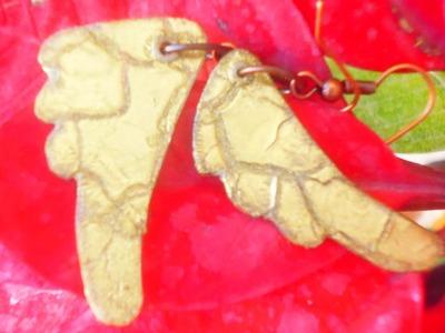 Reciclaje: Pendietes de alas