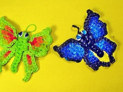 Rainbow Loom Francais Papillon Animaux || Bracelet Elastique Animaux (loom bands francais)