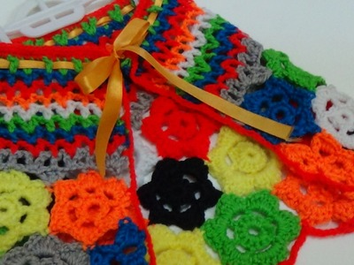 Crochet shawl-1