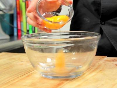 CREME BRULÉE DE ROMPOPE receta Chef Oropeza