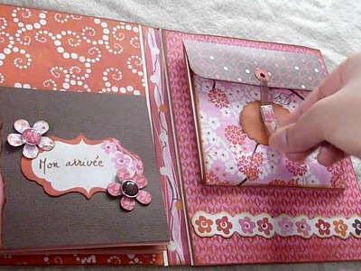 Mini-album Pink Plum - Crate Paper