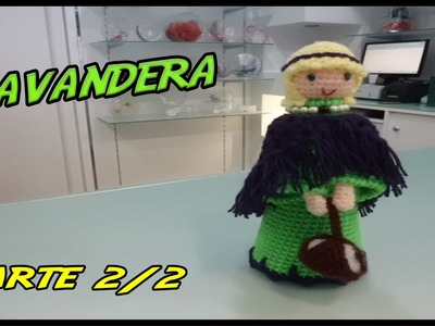 Belén: Lavandera de crochet Parte 2.2