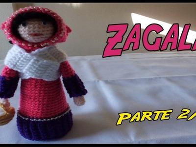 Belén: Zagala de crochet Parte 2.2