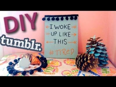 DIY | Décoration de chambre | Wall art ♡