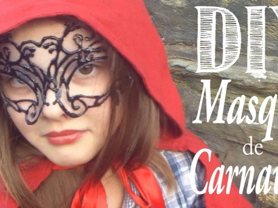 DIY : Masque de Carnaval