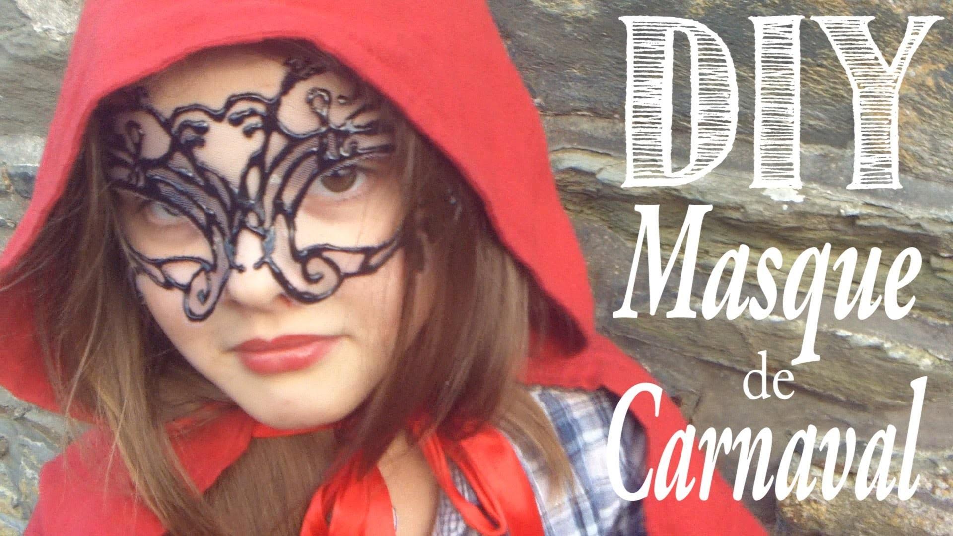 DIY : Masque de Carnaval