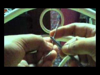 DIY triqueta charm plus bonus tutorial pendant & earring