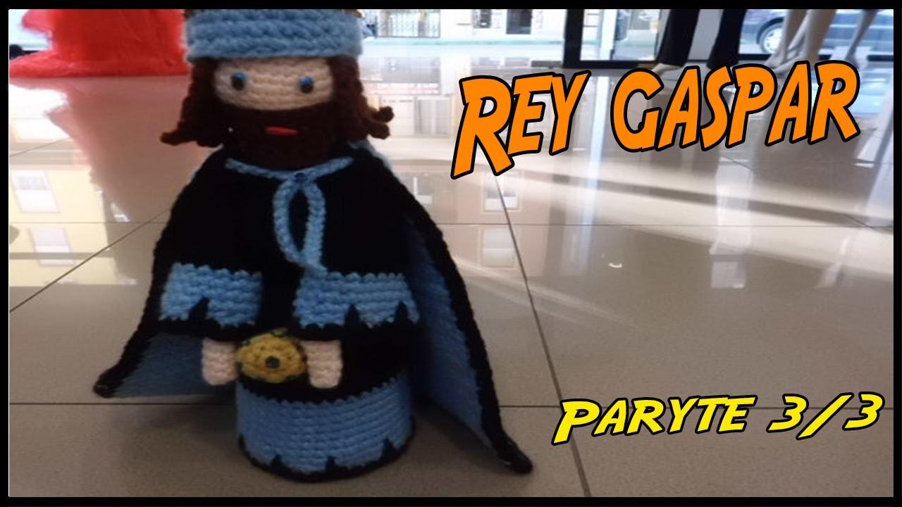 Rey Gaspar de crochet Parte 3.3