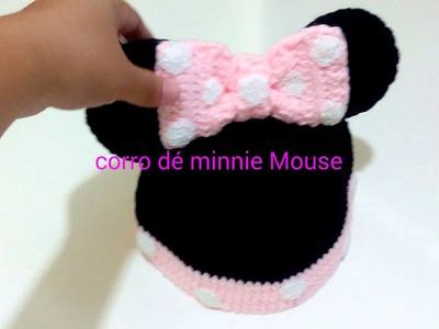 Corro de minnie Mouse a crochet