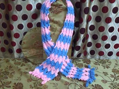 Crochet muffler