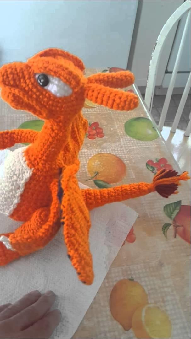Charizard crochet hand made