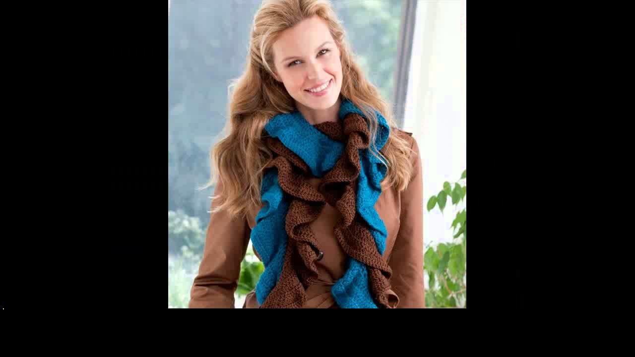 Crochet scarf infinity