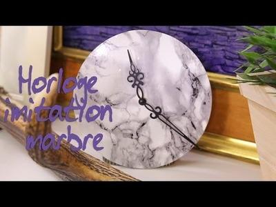 DIY : Comment créer une horloge en marbre ?