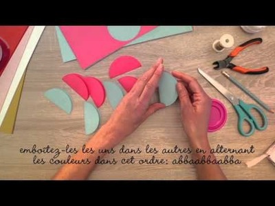 DIY: Des boules de Noël en papier