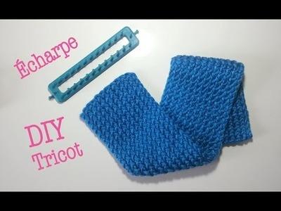 DIY Tricot Écharpe avec métier à tisser