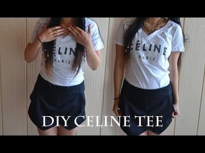❤ DIY: Céline Tee ❤