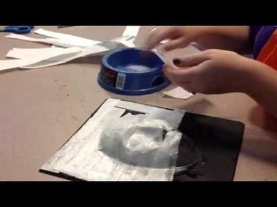 Paper mâché mask 2
