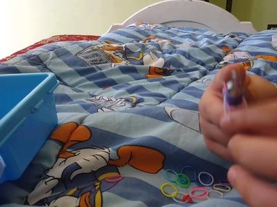 Tuto décorer son crochet rainbow loom