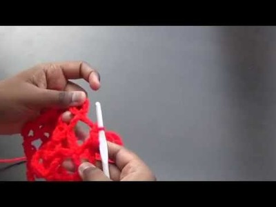 Valentine wrap, scarf crochet Tamil