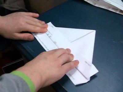 Chapeau de papier origami