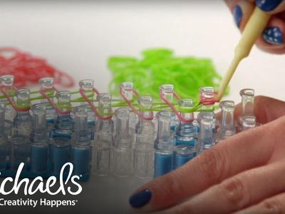 Comment faire un bracelet en spirale | Métier Rainbow Loom | Michaels