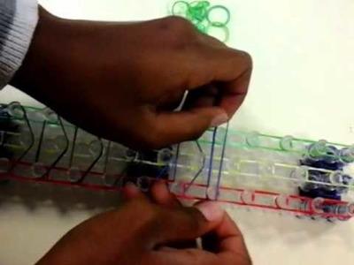 Comment faire un bracelet élastique rainbow loom