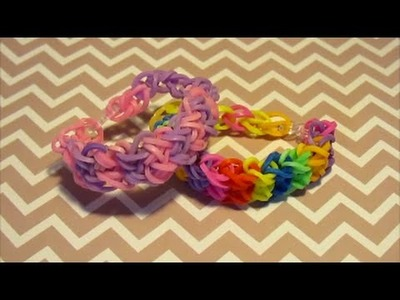 [TUTO] : bracelet croisé en rainbow loom