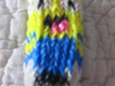 """Tuto : bracelet rainbow loom """"les minions"""""""