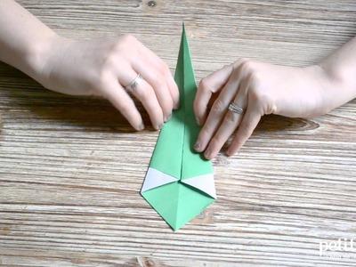 Tutoriel Origami Cygne - PetitHood