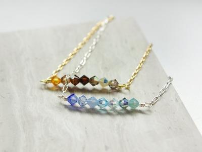 Angélique Ombre Bracelets + D I Y