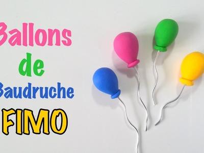 DIY Tutoriel Fimo Ballons de Baudruches