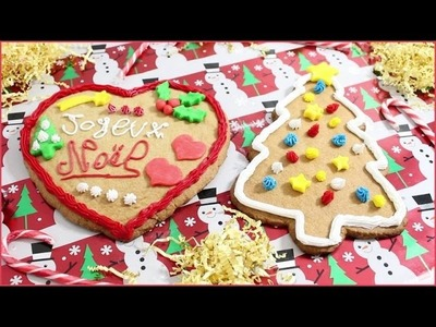 DIY - Biscuits Géants de Noël : Faciles & Jolis